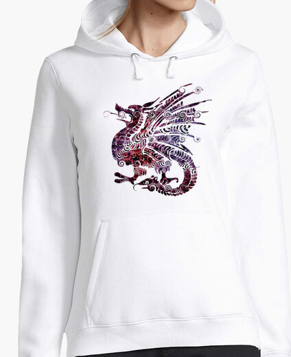 Jersey Dragón étnico fantasía