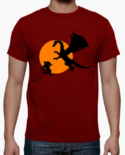 Dragon fight t-shirt
