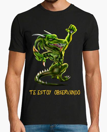 Tee-shirt dragon humaine