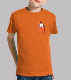 dragon in the pocket (orange)
