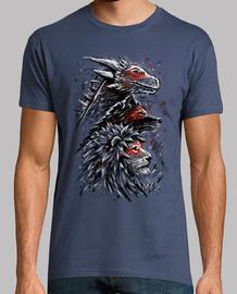 dragón león lobo