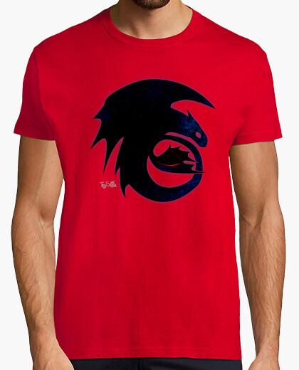 Camiseta Dragon logo