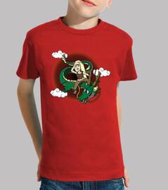 Dragon mom- Camiseta niño