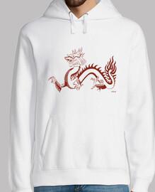 Dragón rojo (sudadera)