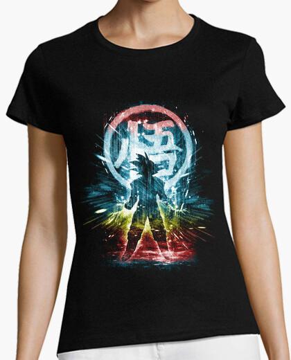 Camiseta dragón versión de la tormenta-arco iris