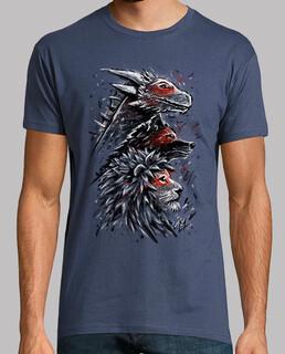 dragon wolf löwe