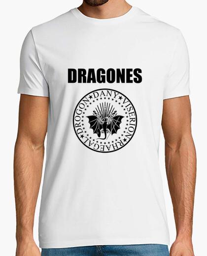 Camiseta Dragones