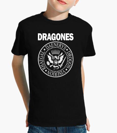 Ropa infantil DRAGONES (BLANCO) N