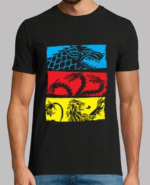 Dragones en tres colores