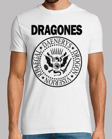 DRAGONES (NEGRO) H