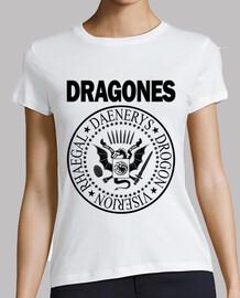 DRAGONES (NEGRO) M