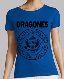 DRAGONES (NEGRO) MT