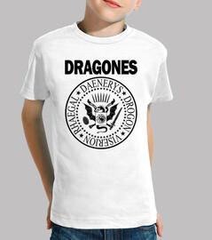 DRAGONES (NEGRO) N