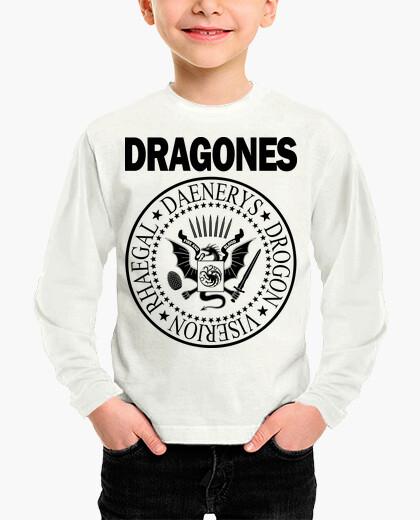 Ropa infantil DRAGONES (NEGRO) N