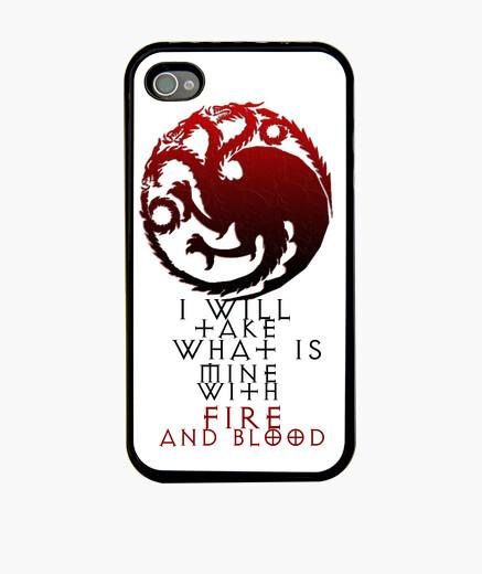 Funda iPhone dragons