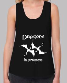 Dragons in Progress (White)