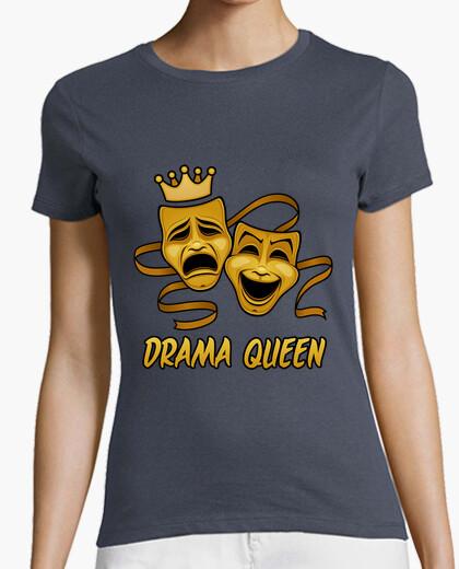 Camiseta drama comedia reina y tragedia...