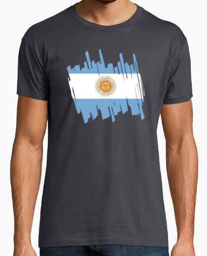 Tee-shirt Drapeau de l'argentine
