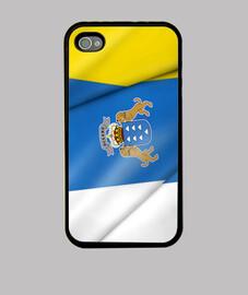 drapeau des îles canaries
