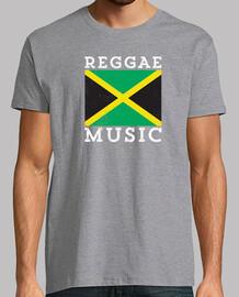 drapeau jamaïcain de musique reggae
