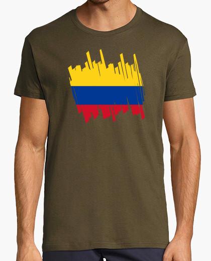 Tee-shirt Drapeau la colombie