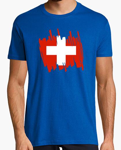 Tee-shirt Drapeau suisse