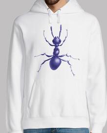 Drawn Purple Ant