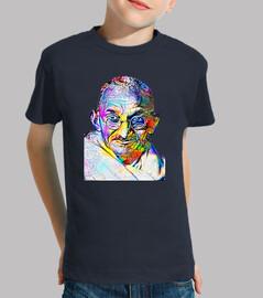 Dream Art Gandhi Niño, manga corta, azul marino