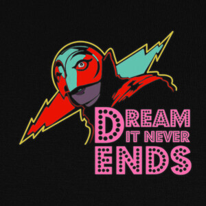Camisetas Dream It Never Ends