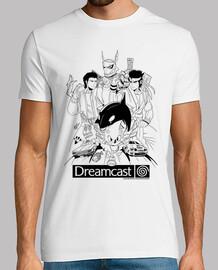 Dreamcast Heroes - Hombre Manga Corta