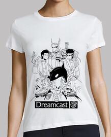 Dreamcast Heroes - Mujer Manga corta