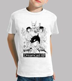 Dreamcast Heroes - Niño Manga Corta