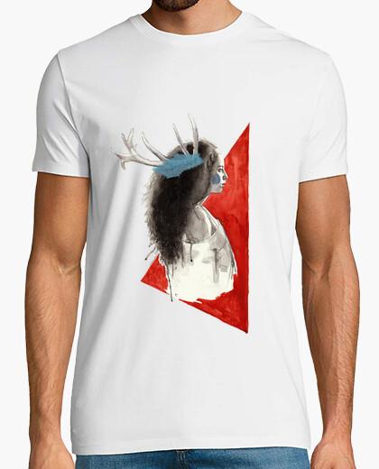 Camiseta Dreams burn at dusk / Hombre, manga corta, blanco, calidad extra