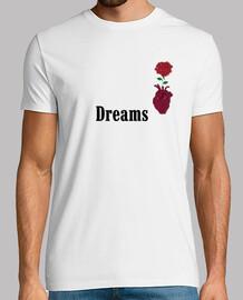 Dreams Rosa en corazón