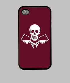 Drinking Jolly Roger - Cover iPhone 4