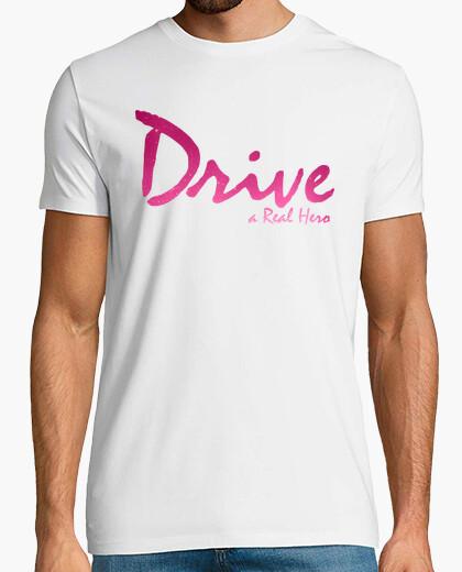 Drive real hero t-shirt