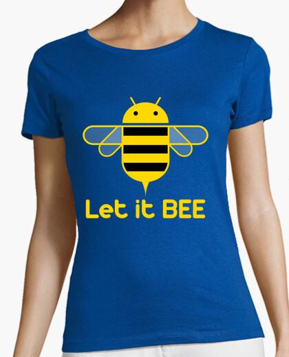 Camiseta Droid - Let it Bee