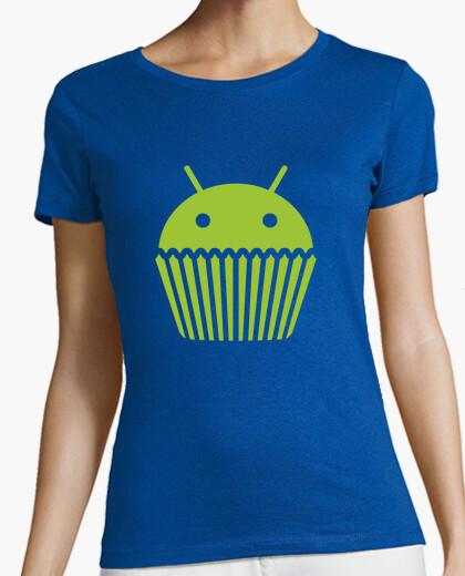 Camiseta Droid Cupcake