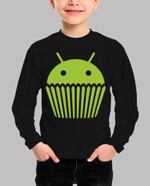 Droid Cupcake