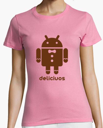 Camiseta Droid Gingerbread