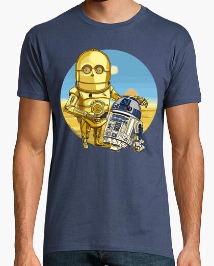 Camiseta Droides by Calvichi's (WEB)