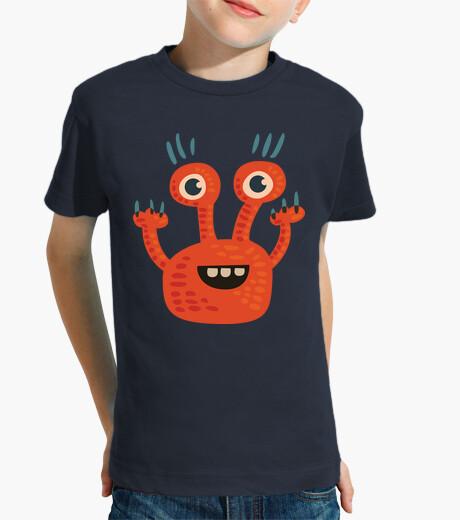 Vêtements enfant drôle de personnage de bande dessinée d'orange