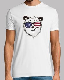 drôle panda bear