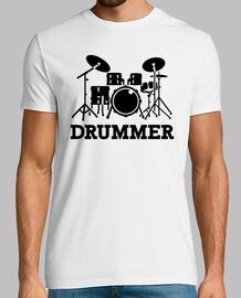Drummer drums