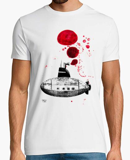 T-shirt due sottomarini cadafalch