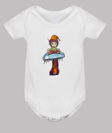 Duende para bebé fondo blanco
