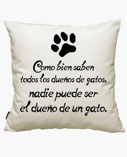 Funda cojín Dueños de gatos
