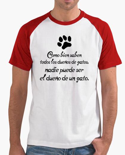 Camiseta Dueños de gatos