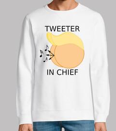 dump atout - tweeter en chef