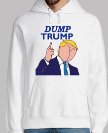 dump trump - butt face